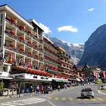 famous Kreuz & Post hotel in Grindelwald, Switzerland in Grindelwald, Bern, Switzerland