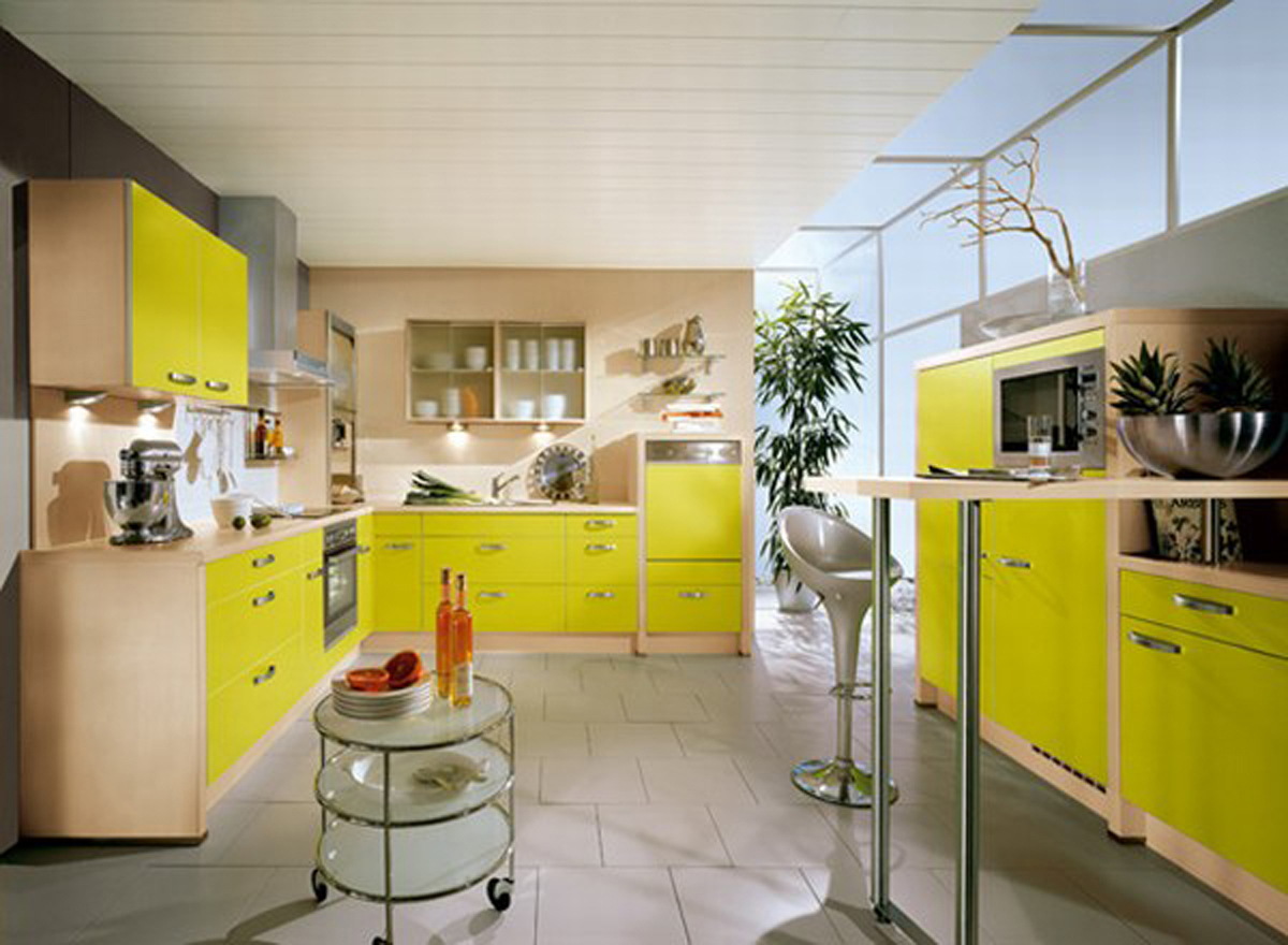 Now Everyone Can Decor Funky Kitchen