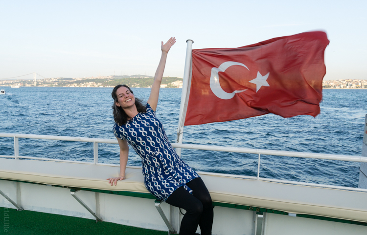 On the Bosphorus. From #WidenYourWorld: Most Influential Travel Bloggers Share the Best of Turkey