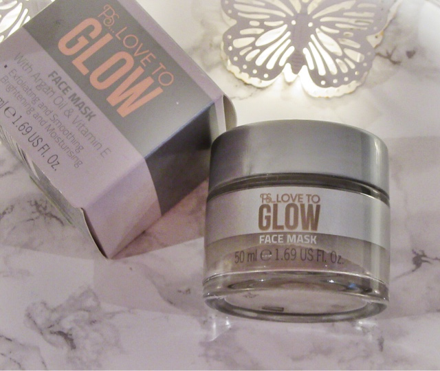 P.S. Love To Glow Facemask Review