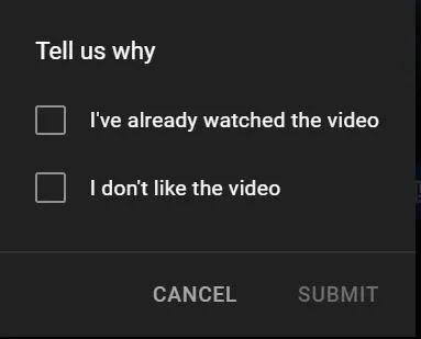 أخبرنا لماذا