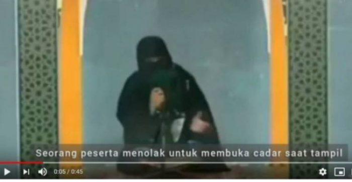 Pro-Kontra Cadar di MTQ, Umat Butuh Khilafah
