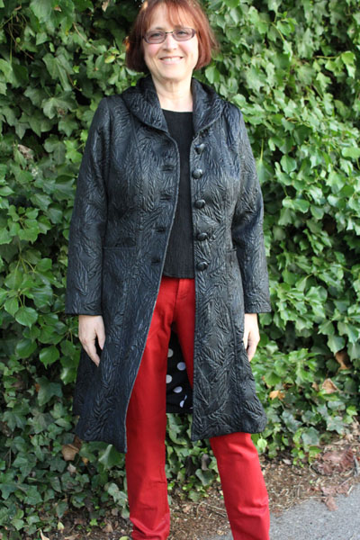 Black Fitted Sandra Betzina coat