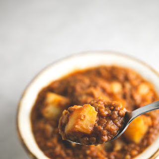 Fat Free Spanish Lentil Stew