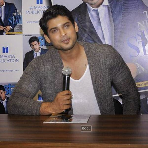 Siddharth Shukla clicked during the launch of Star Week magazine's latest issue in Mumbai, on July 31, 2014.(Pic: Viral Bhayani)