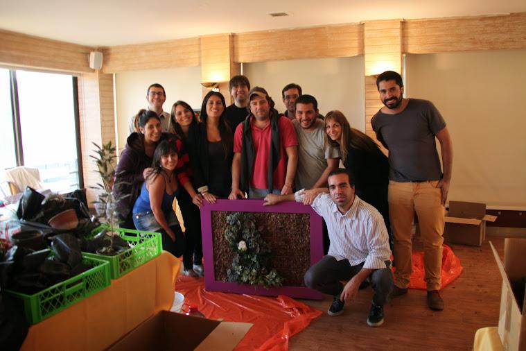 Curso de jardines verticales Santiago de Chile