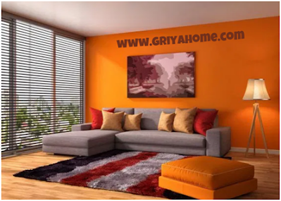 Cat Rumah Bagian Dalam Berwarna Orange