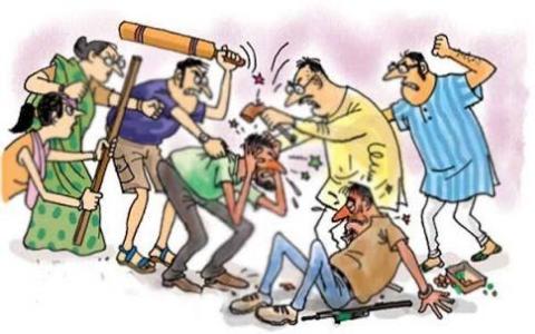 भागलपुर में मामूली विवाद को लेकर दो पक्षों में मारपीट , एक घायल ...