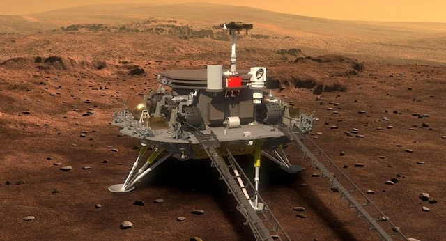 China successfully landed a spacecraft on Mars