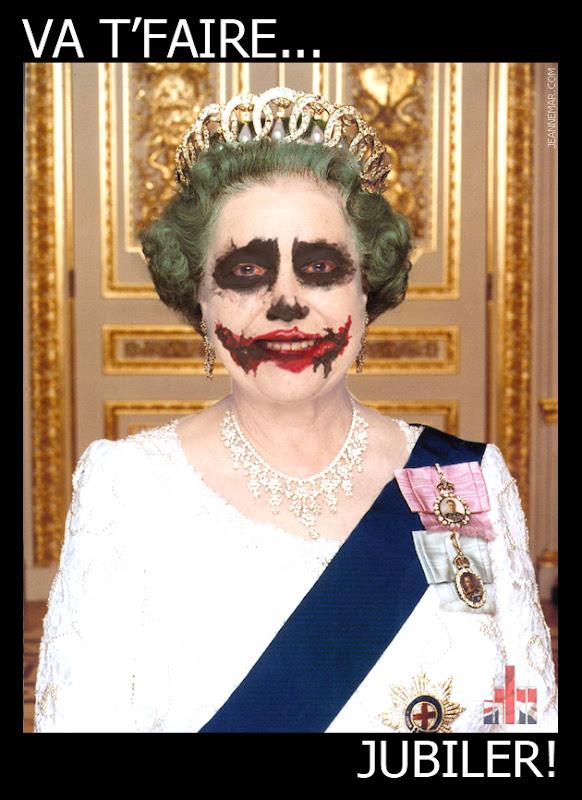 Reine Élisabeth II - Va t'faire jubiler - Jean Némar