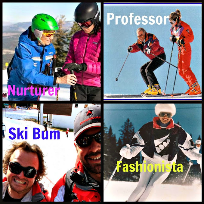 Ski Instructor Brand Personalities