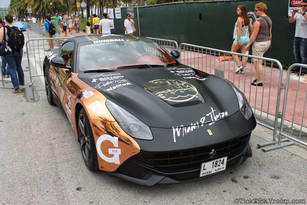 2014 Gumball 3000 Miami 2 Ibiza Ocean Drive 7922
