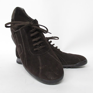 Salvatore Ferragamo Suede Sneakers