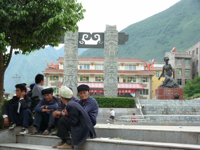 CHINE.SICHUAN.LEI BO,petite ville , escale pour aller à XI CHANG - 1sichuan%2B632.JPG