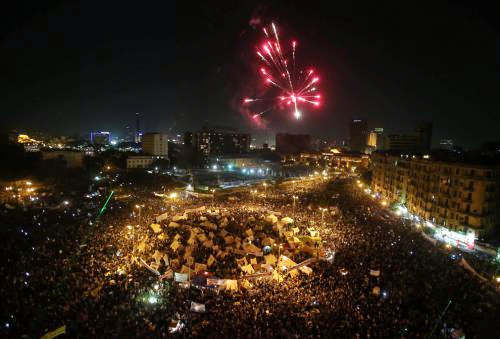 Protests Return To Tahrir Square November 28 2012