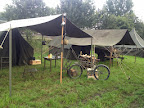 Army tents - Market Garden basecamp in Veghel. September 2014