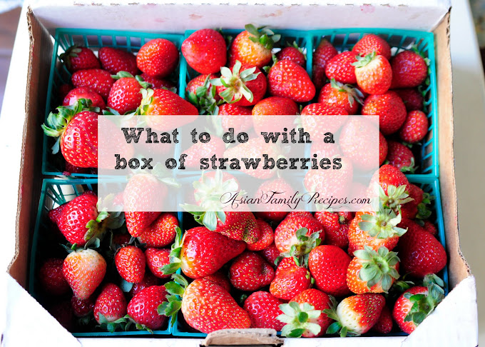What to do with a box of strawberries