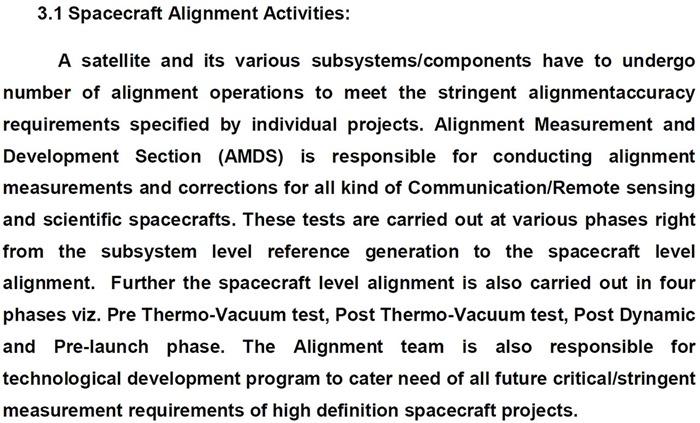 ISAC - Satellite System Alignment - India - EoI - 02