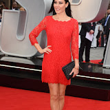 ENTSIMAGES.COM - Linzi Stoppard at the Spy - UK film premiere Odeon Leicester Square London 27th May 2015 Photo Mobis Photos/OIC 0203 174 1069