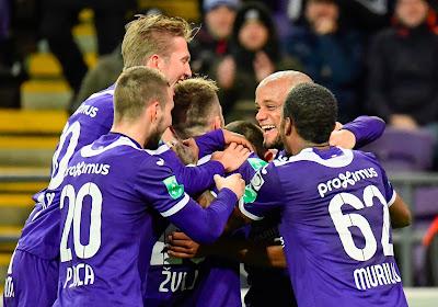 Une bouffée d'air frais pour Anderlecht qui écrase Eupen, premier but pour Kompany