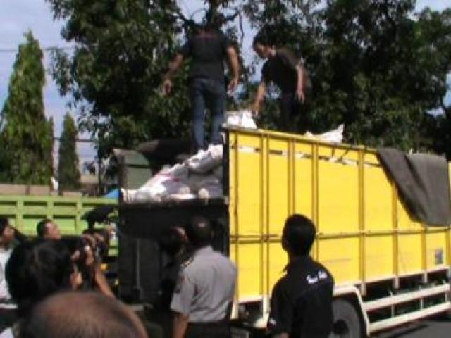 Polisi Amankan 6 Ton Pupuk Bersubsidi