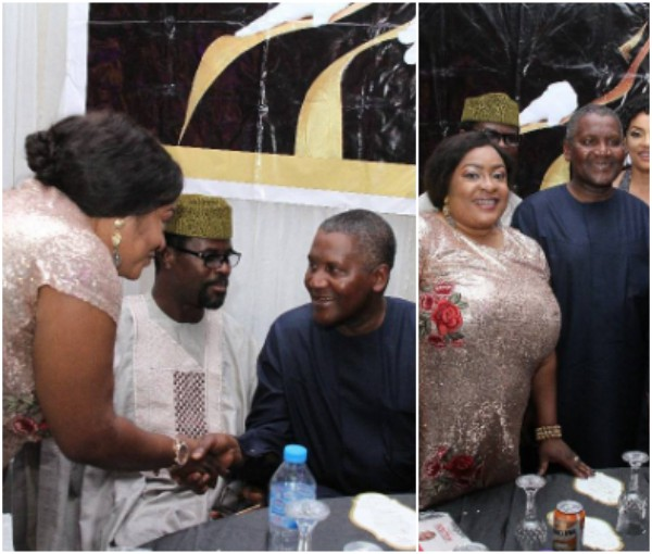 """He stood up to greet me"" – Foluke Daramola Gushes Over Dangote's Humility (Photos)"