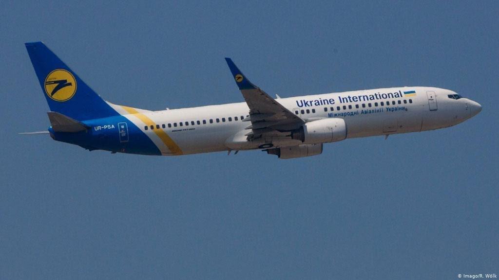 Ukraine passenger jet crashes in Iran.