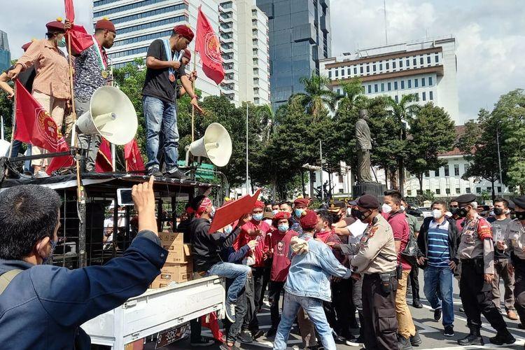 Begini Kabar Terbaru 22 Orang Diduga Anarko yang Diamankan Polisi Saat Demo Buruh