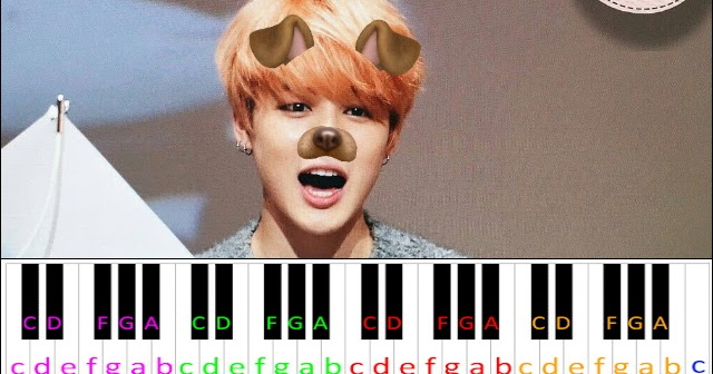 Filter By Bts Jimin Piano Letter Notes
