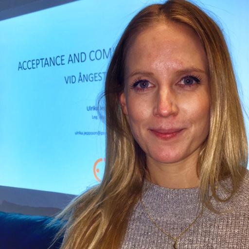 Ulrika Jeppsson föreläste om ACT