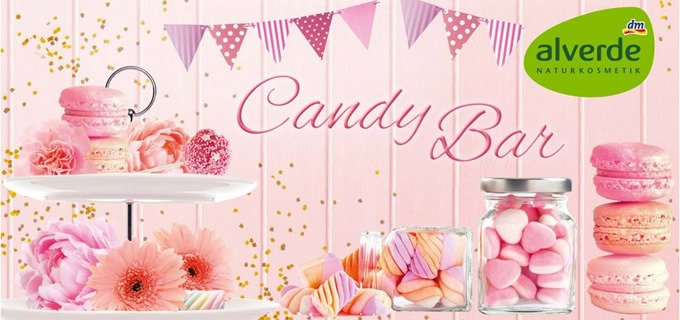 Alverde Candy Bar Header