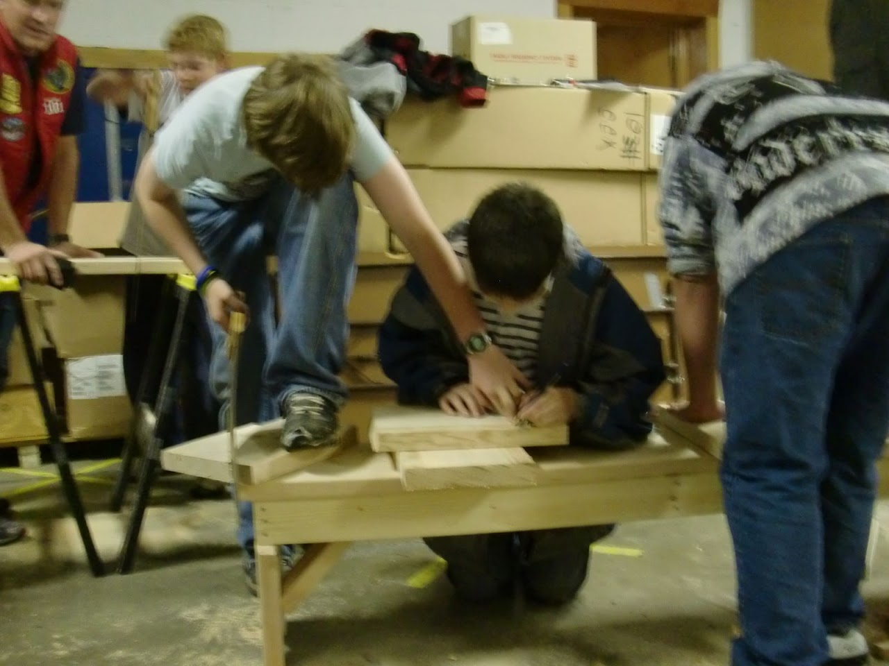 Carpentry Merit Badge Sessions - CIMG1150.JPG