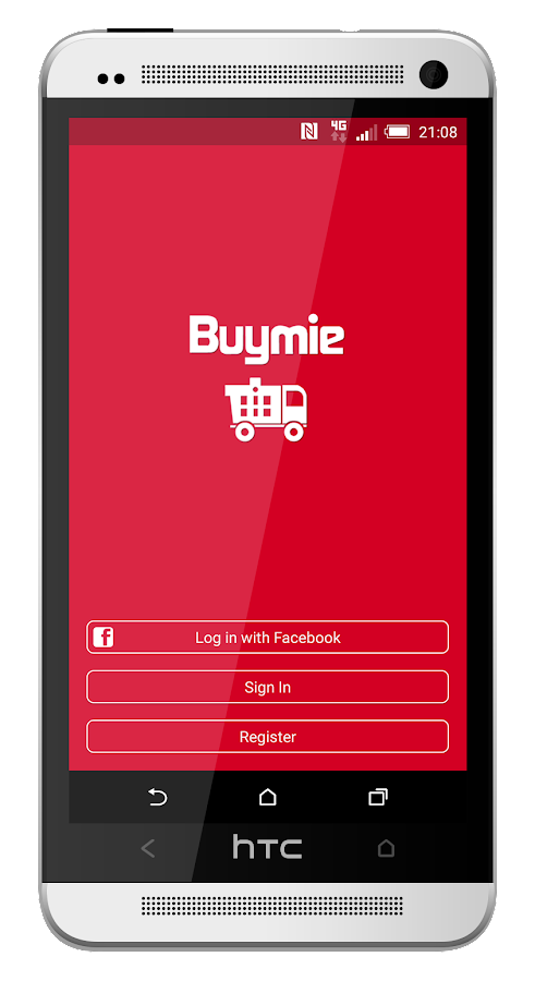 Buymie- screenshot