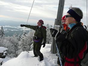 Photo: Blick vom Mühlriegel ins Vorland