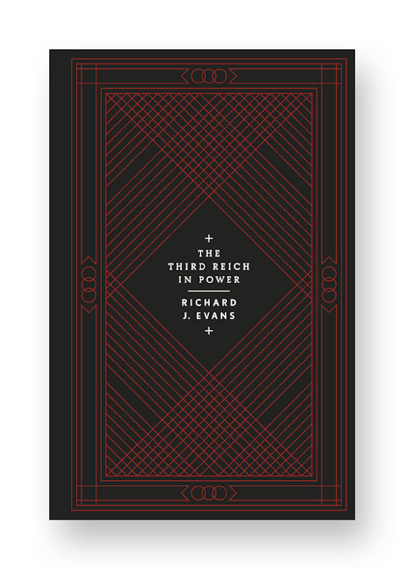 The Third Reich Trilogy designed by Stefanie Posavec