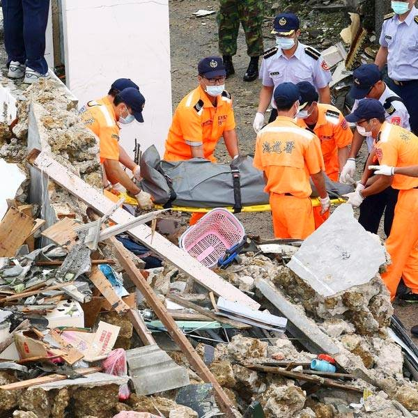 The official death toll was 47, according to Wen Chia-hung, spokesman for the Penghu disaster response center. He said the 11 other people were injured.