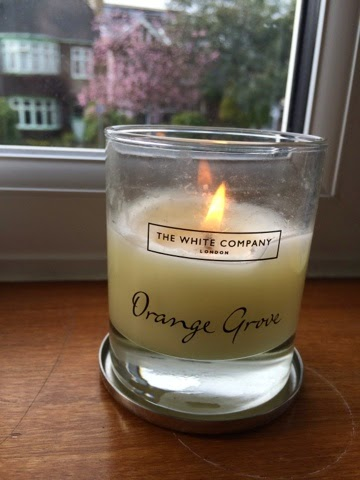 The White Company Orange Grove Candle