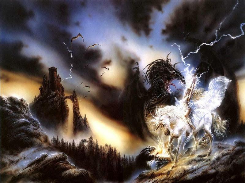 White Spell Of Lightning, Magic And Spells