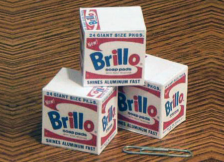Warhol Brillo Box Papercraft