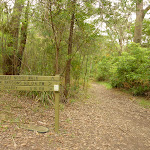 Great North Walk sign near Zig Zag Creek (334889)