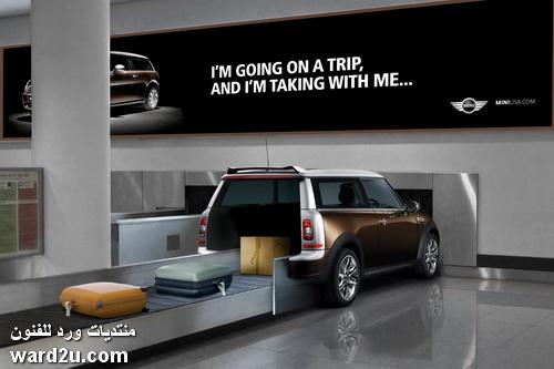 إعلانات عجيبة و اماكنها غريبة