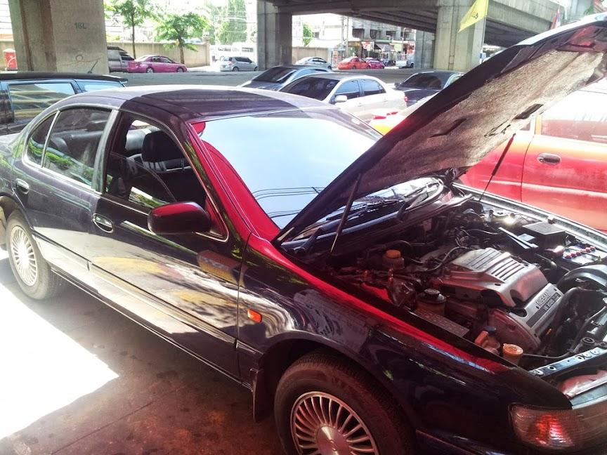 ร้านเกียรติรุ่งทรัพย์ (ปิ่นเกล้า) ซ่อมรถยนต์ ช่วงล่าง โช๊คอัพ ล้างแอร์ แบตเตอรี่