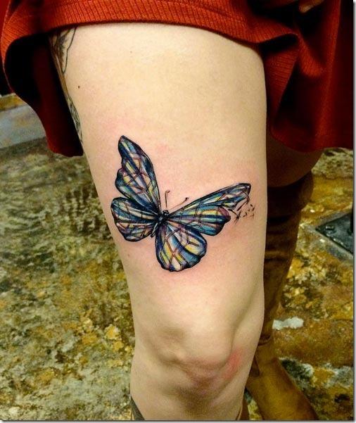 Esta borboleta