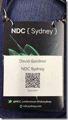Delegate badge