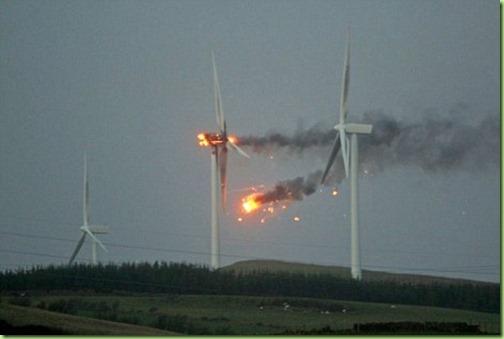 burning windmills