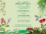 Desain undangan ini membuat pernikahanmu dikenang