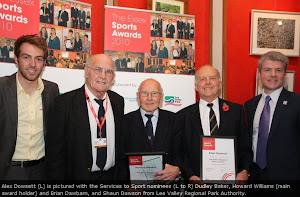 Howard Williams - Essex Services to Sport Award Winner 2010