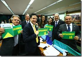 Rogério na Comissão do impeachment (2)