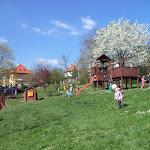 Jaro na zahradě Pod Lipkami