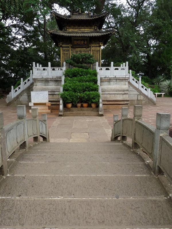 KUN MING Temple, jardin horticole